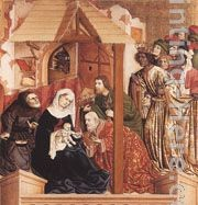 Hans Multscher The Adoration of the Magi